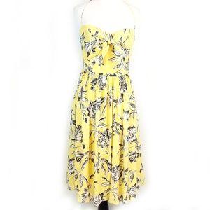 BB Dakota Pin-up Style Fully Lined Halter Dress